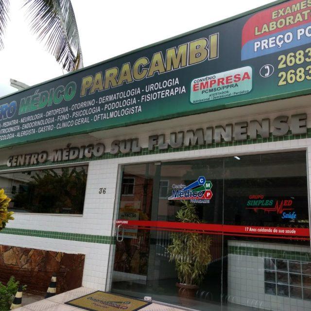 Convênios do Centro Médico Paracambi
